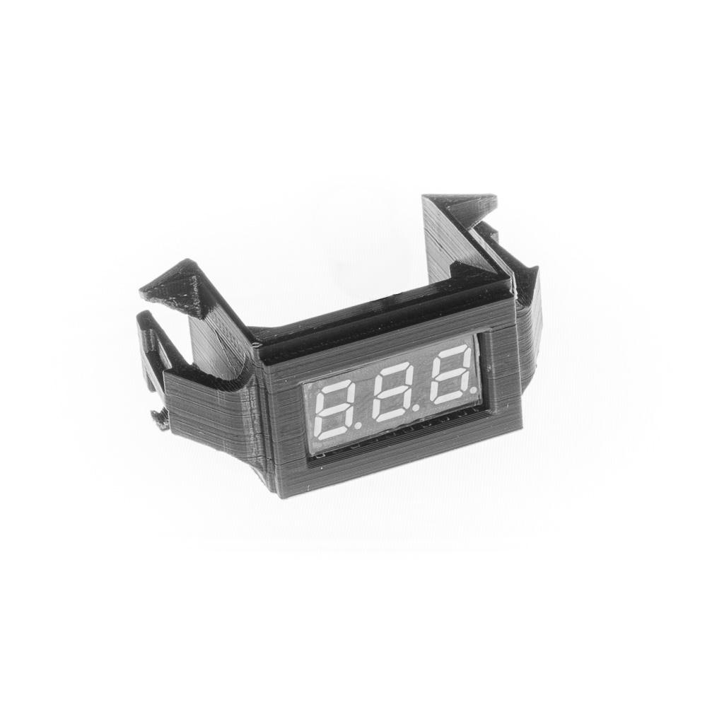 Dash Switch Voltmeter